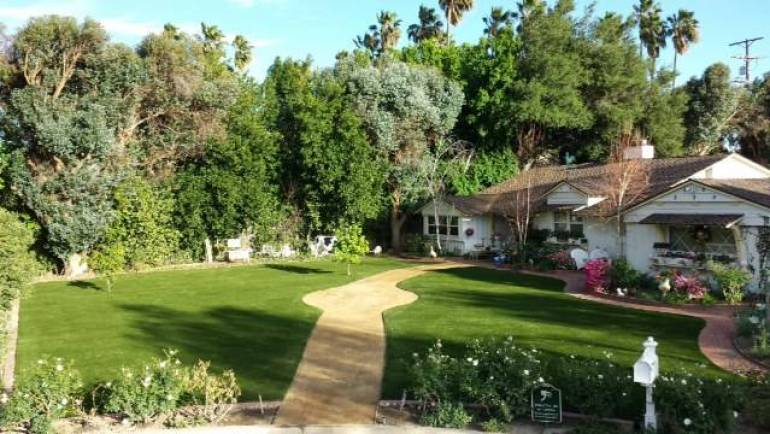 Artificial Turf Front Yard – Reno, Nevada