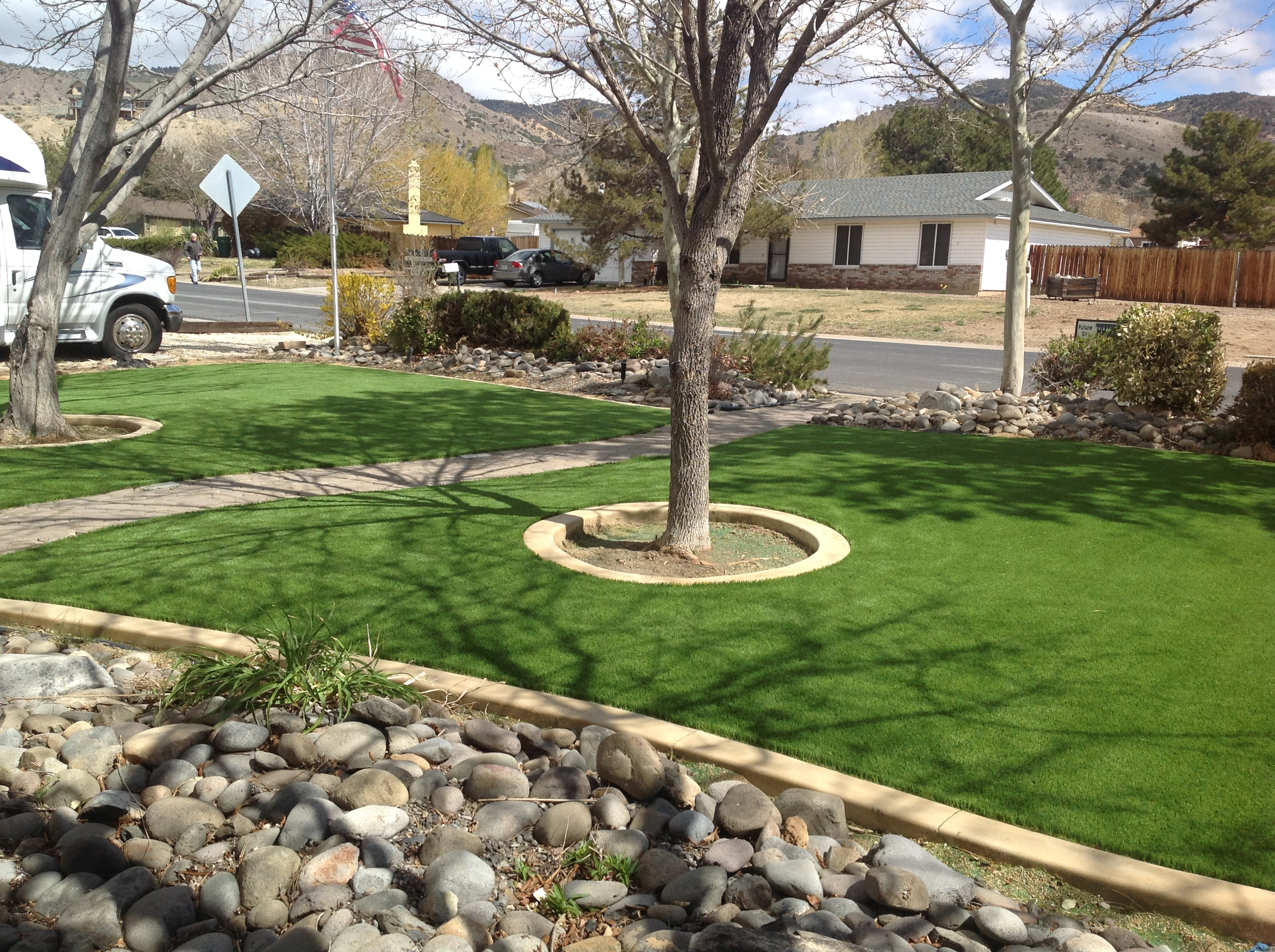 Front Yard Artificial Grass Sierra Winds