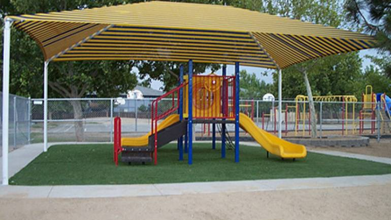 Shade Awning, Playground & Artificial Turf