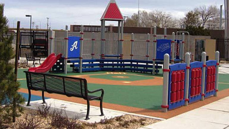 Kids Play Area – Aces Ballpark – Reno, NV