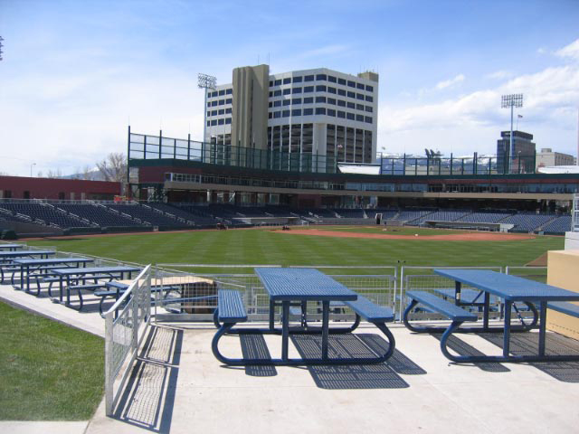 Picnic Tables – Aces Ballpark – Reno, NV