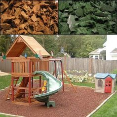 rubber mulch Safe Fall Material