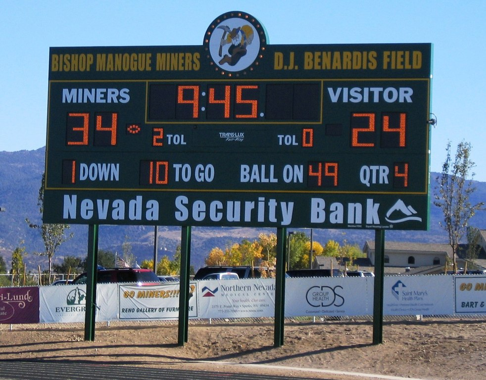 Scoreboard - Sierra Winds