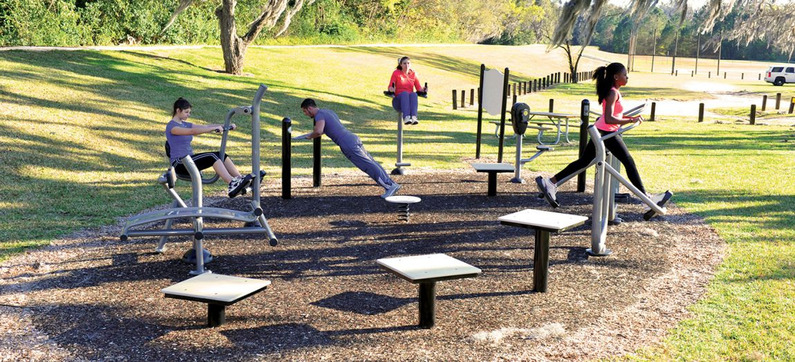 Site Furnishings - Exercise Equipment