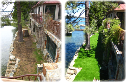 Artificial Turf - Before & After