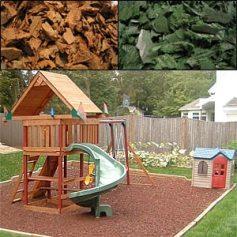 rubber mulch Safe Fall Material